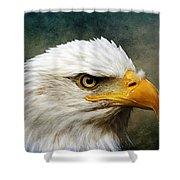 Eagle Art Shower Curtain