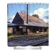 Eagle Bridge Depot Shower Curtain