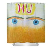 Eagle Eyes Of Love Shower Curtain
