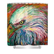 Eagle Fire Shower Curtain