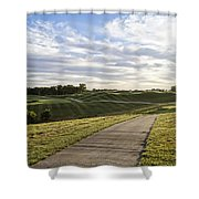 Eagle Knoll Golf Club - Hole Four Shower Curtain