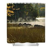 Eagle Lake Sunrise Shower Curtain