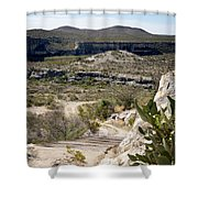 Eagle Nest Canyon Shower Curtain