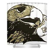 Eagle Planet Shower Curtain