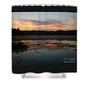 Eagle River Sunrise No.5 Shower Curtain