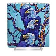 Eagle Tree Shower Curtain