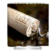Eagle Uncorked  Shower Curtain