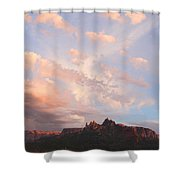 Eagles Crags  Shower Curtain