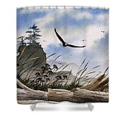 Eagles Home Shower Curtain