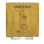 Eames Chair Patent 1 Shower Curtain