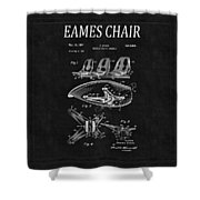 Eames Chair Patent 4 Shower Curtain