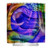 Ear To The Stars Shower Curtain