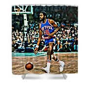 Earl Monroe Shower Curtain by Florian Rodarte