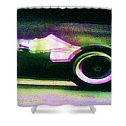 Early 60's F1 Racer Shower Curtain