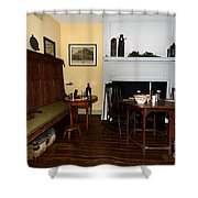 Early American Dining Room Shower Curtain