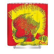Early Ancestry Micro Me Portrait 11 Shower Curtain