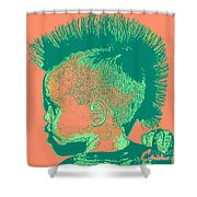 Early Ancestry Micro Me Portrait 12 Shower Curtain
