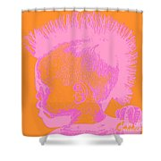 Early Ancestry Micro Me Portrait 13 Shower Curtain