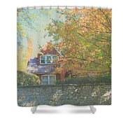 Early Autumn Home Shower Curtain