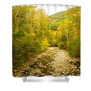 Early Autumn On Seneca Creek Wv Shower Curtain