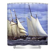 Early Contenders Shower Curtain