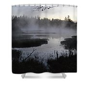 Early Day Shower Curtain