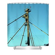Early Directions Shower Curtain