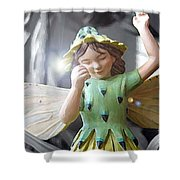 Early Evening Fairy Shower Curtain