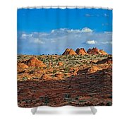 Early Evening Light At Coyote Buttes Shower Curtain