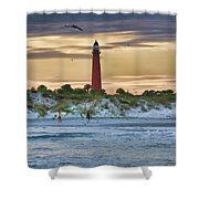 Early Evening Sky Shower Curtain