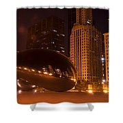 Early Hours In Chicago Shower Curtain