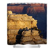 Early Light In The Canyon Shower Curtain