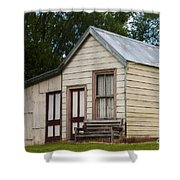 Early Miner's House Shower Curtain