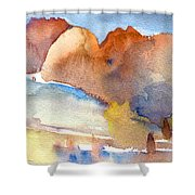 Early Morning 55 Shower Curtain