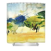 Early Morning 62 Shower Curtain