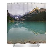 Early Morning At Lake Louise Shower Curtain
