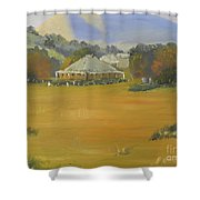 Early Morning At Sofala Shower Curtain