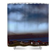 Early Morning At The Golden Gate Shower Curtain