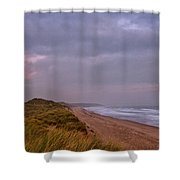 Early Morning At Warkworth Shower Curtain
