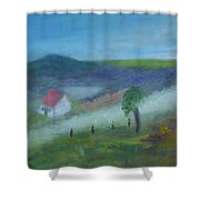 Early Morning In Donegal Shower Curtain