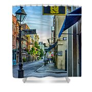 Early Morning In French Quarter Nola Shower Curtain