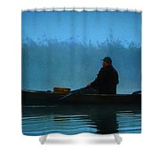 Early Morning Lake Joy  Shower Curtain