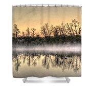 Early Morning Mist Shower Curtain by Lynn Geoffroy