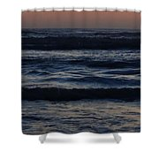 Early Morning Ocean Shower Curtain