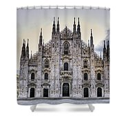 Early Morning On Il Duomo Shower Curtain