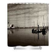 Early Morning River Suir, Waterford Shower Curtain