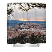 Early Morning Sky Shower Curtain