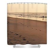 Early Morning Stroll At Litchfield Shower Curtain