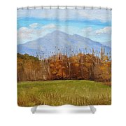 Early November At First Bridge Shower Curtain