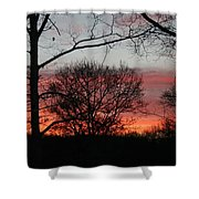 Early One Morning IIi Shower Curtain